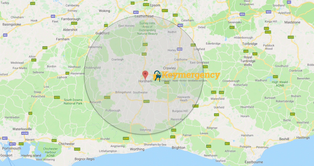 Keymergency Locksmiths - Area we cover