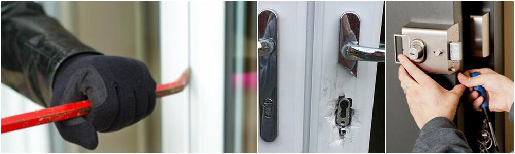 Locksmith for Burglary damage repair - Horsham, Crawley & West Sussex