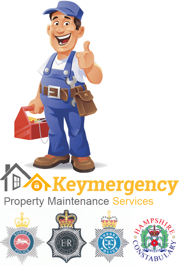 Keymergency are registered & approved Locksmiths for the Metropolitan, Sussex, Surrey & Hampshire Police forces.